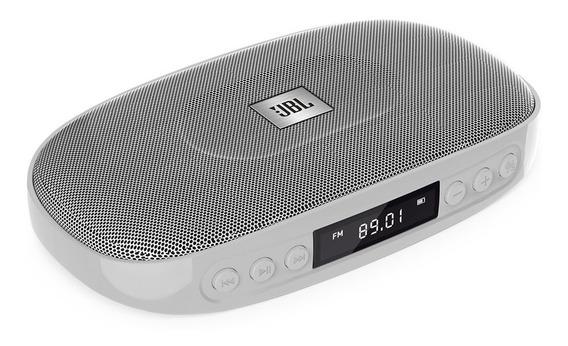 Caixa De Som Bluetooth Jbl Tune Prata Rádio Fm Micro Sd