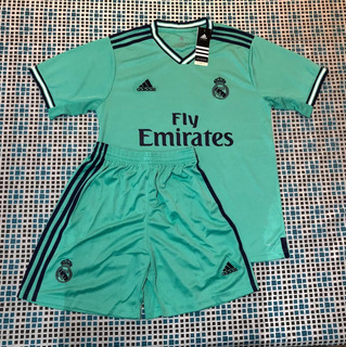 Camisa Time Real Madrid + Short