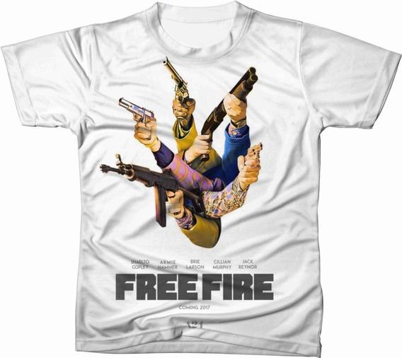 Camiseta Camisa Personalizada Free Fire Jogo Game Ref 10