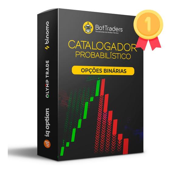Catalogador Opções Binárias - Bot Traders - Lançamento