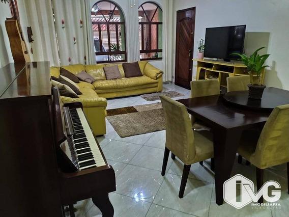 Sobrado Mobiliado 4 Dormitórios, 3 Suítes À Venda Por R$ 750.000 - Jardim Vila Galvão - Guarulhos/sp - So0198