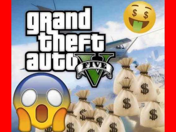 $1 Milhão / Dinheiro - Gta V (ps4) Leia A Descrição