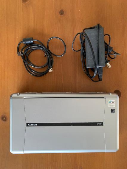 Impressora E Fotocopiadora Canon Pixma Ip100 + 4 Cartuxos