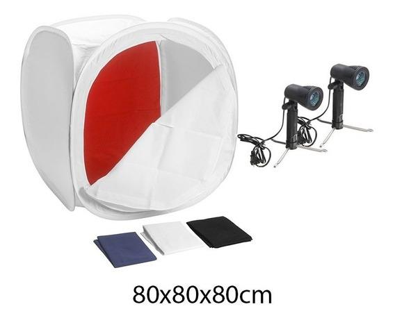 Mini Estudio Foto Portatil Box Tenda Studio Lojas Acessórios