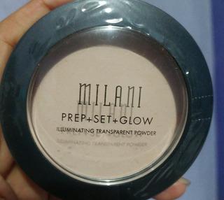 Milani Prep+set+glow Iluminador Polvo Transparente