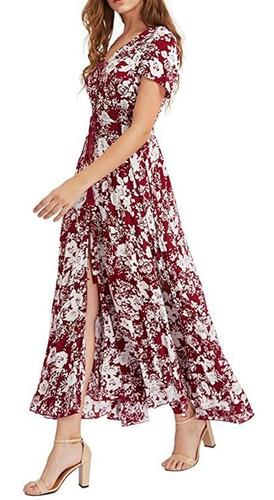 Imagem 1 de 3 de Vestido Floral Elegante,veste 38,40,42 Super Confortável