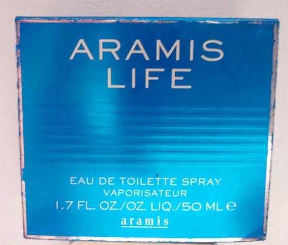 Edt Aramis Life 50 Ml Usado (raro).