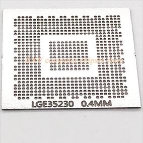 Stencil Calor Direto Lge35230 Bga Lcd Decoder Chip Lg