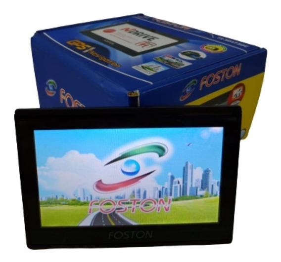 Gps Automotivo Foston 3d Com Tv Digital + Suporte Grátis