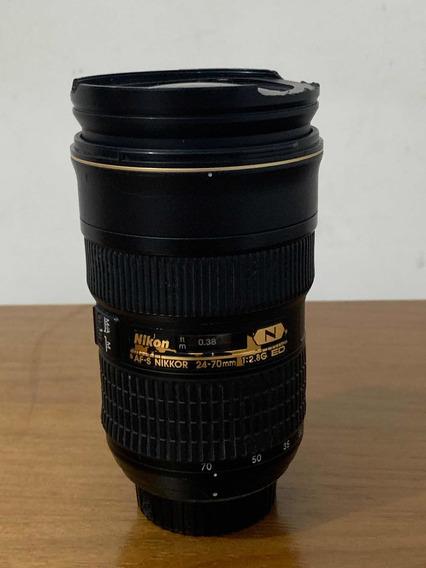 Lente Nikon 24-70mm F/2.8g