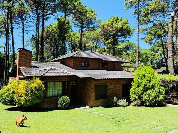 Alquiler De Temporada Hermosa Casa En Pinamar Tipo Chalet!