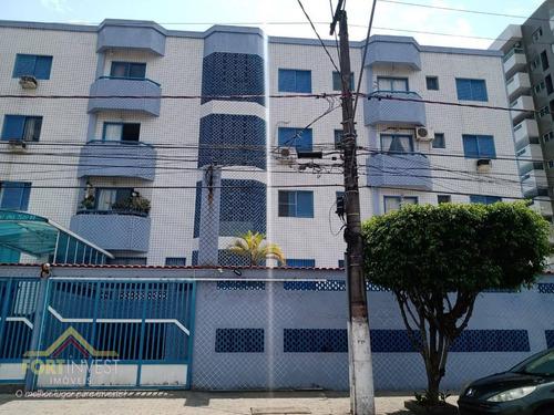 Imagem 1 de 10 de Apartamento Com 1 Dormitório À Venda, 43 M² Por R$ 170.000,00 - Canto Do Forte - Praia Grande/sp - Ap2148