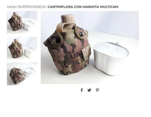 Cantimplora Con Marmita Multicam