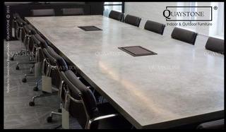 Mesa Reunion Moderna Diseño - Quaystone -- Silestone Marmol