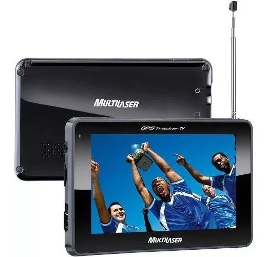 Gps Automotivo Multilase Tela 4.3 Tv Digital Fm Gp034 Outlet