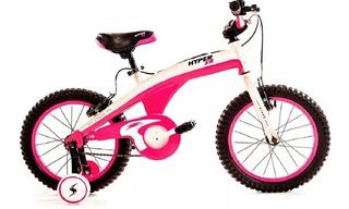 Bicicleta Niña Rodado 12 Stark Hypper Xr Fucsia Rueditas