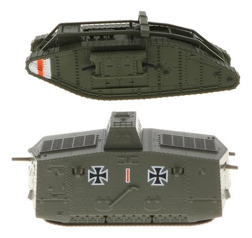 Imagen 1 de 6 de 2 Unidades Maqueta De Tanque De Ejército Militar Realista