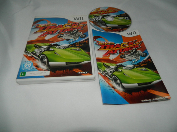 Hot Wheels Track Attack - Original Nintendo Wii - Completo