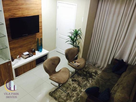 Sobrado Com 3 Dormitórios À Venda, 110 M² Por R$ 580.000,00 - Vila São Luiz (valparaízo) - Barueri/sp - So0313