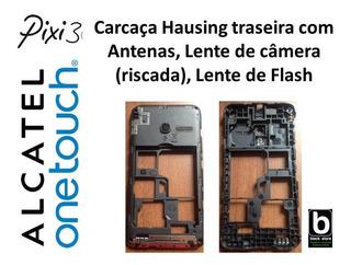 Carcaça Hausing Traseira Com Antenas Alcatel Pixi 3 4013