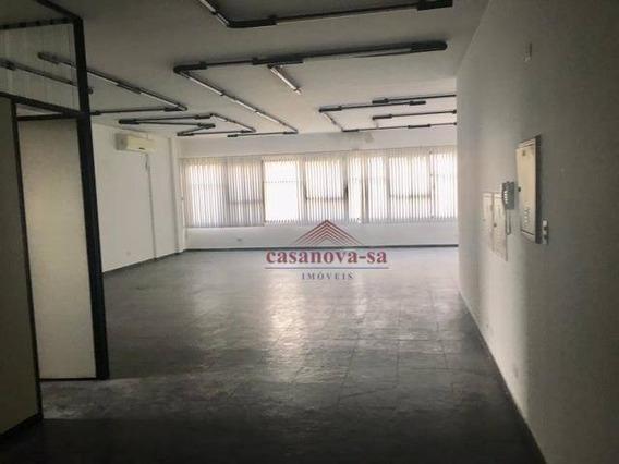 Sala Para Alugar, 150 M² Por R$ 2.500/mês - Vila Bastos - Santo André/sp - Sa0052