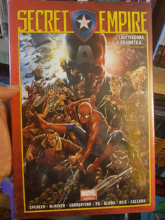 Secret Empire Pasta Dura Editorial Televisa Hist. Completa
