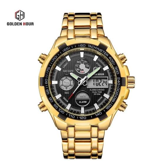 Relógios Masculinos Golden Hour