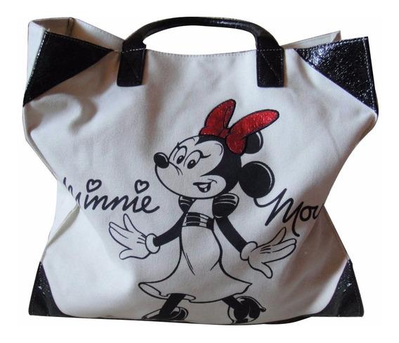 Bolsa Minnie Park Disney 100% Original E Importada Relevo
