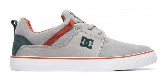 Zapatilla Hombre Heathrow Vulc Gris Dc Shoes