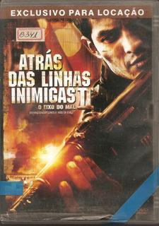 Dvd - B341nv Atrás Das Linhas Inimigas 2 - Guerra - Dublado