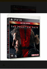 Metal Gear The Phantom Pain V Mídia Física Lacrado Promoção
