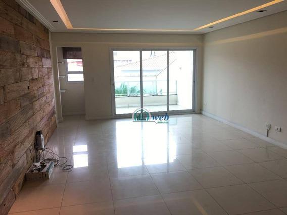 Lindíssimo Sobrado Alto Padrão Com 4 Dormitórios À Venda, 360 M² Por R$ 1.325.000 - Vila Alpina - Santo André/sp - So0063