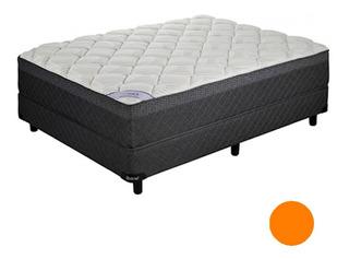 Sommier Colchon Belmo Pocket Resortes 2 Plaza 190 140 Pillow