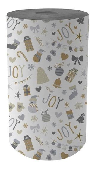 Bobina Papel De Regalo Muresco Navidad - 35cm X 200mt