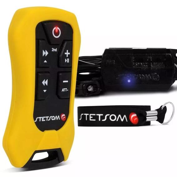 Controle Longa Distância Stetsom Sx4 8 Funções 200m Amarelo