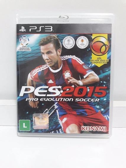 Jogo / Ps3 - Pro Evolution Soccer Pes 2015