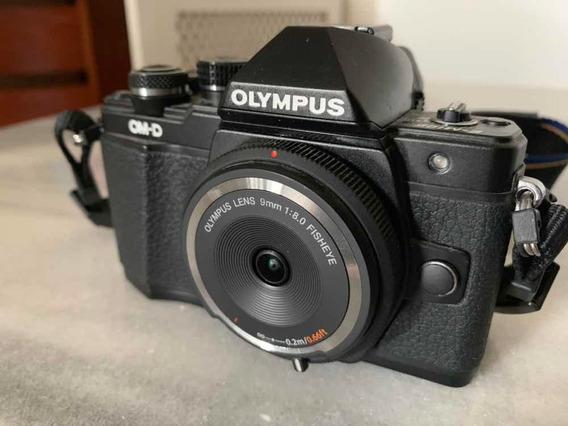 Olympus Om-d Em10ii 721 Clicks, Com Fisheye Bodycap