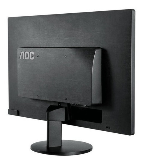 Monitor Aoc M2470swd2 Tela 23,6 Led Preto Vga/dvi