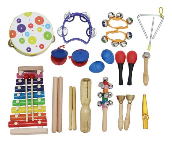 Kit De Juguete Para Instrumentos Musicales 19pcs / Set Inclu