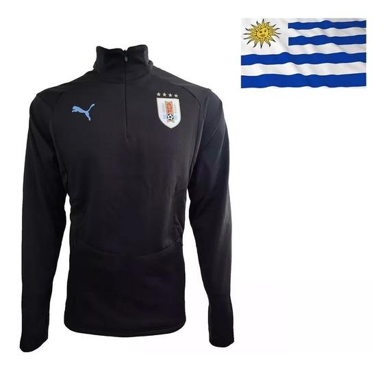 Campera Puma Entrenamiento Selección Uruguay Adulto 2018