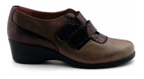 Zapato Vestir Mujer Cuero Casual Briganti Moda - Mczp05156