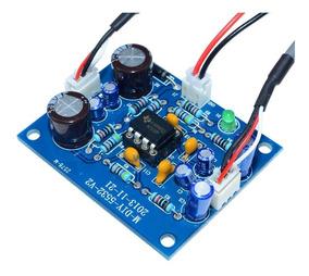 Kit Montado Pré Amplificador De Áudio Ne5532 Fonte Simples