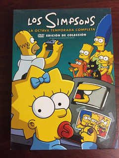 Dvd The Simpsons Season 8 Edicion De Colección Original
