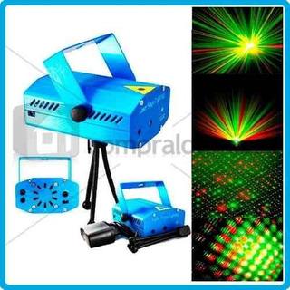 Luz Laser Multipunto Rítmica Discoteca Navidad Bar Fiesta