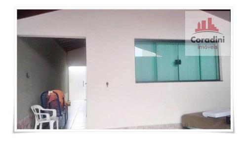 Imagem 1 de 16 de Casa  Residencial À Venda, Jardim Santa Luiza I, Nova Odessa. - Ca0567