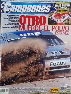 Revista Campeones N°265.triunfo De Ponce De Leon En Mendoza