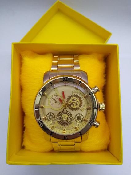 Relógio Masculino Top Na Caixa - 02 Unidades