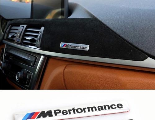 Imagem 1 de 4 de Emblema Bmw M Performance Painel