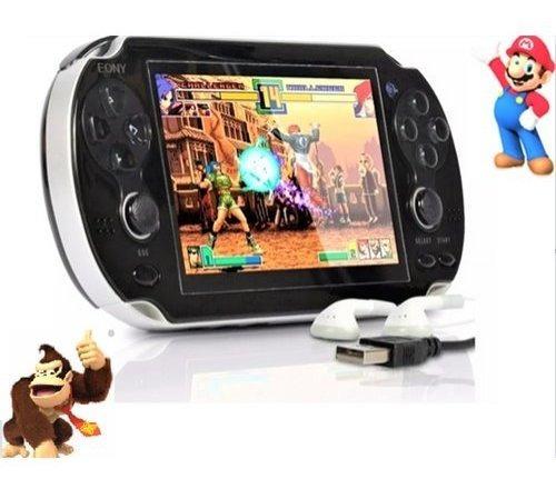 Video Game Porta Tipo Psp Jogo Nes Mini Game Frete Gráti