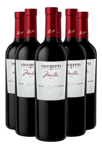 Promo Vino Cicchitti Malbec 750 Ml X 6 Botellas